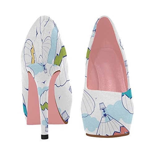 On Pumps Prin Wedge Heel High Owl Colorful Womens Color10 Floral Cute Shoes Pattern InterestPrint Aztec Butterfly tC6qwpnOx