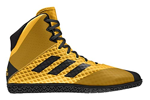 Adidas Mat Wizard 4 Gold/Black Wrestling Shoes 11.5