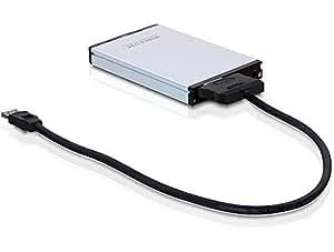 DeLOCK SATA cable, 0.5m 0.5m eSATAp Negro cable de SATA - Cable SATA (0.5m)