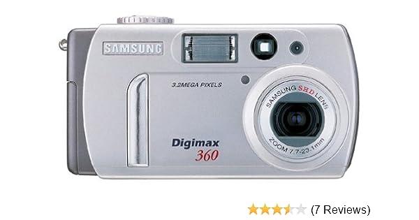 Amazon. Com: samsung digimax 240 2. 1mp digital camera w/ 3x.