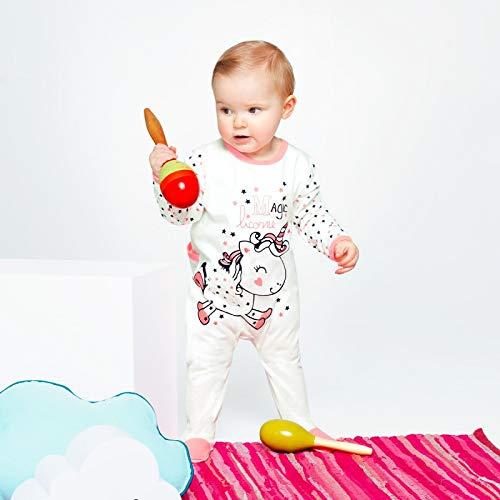 0496353e97d7a Petit Béguin - Pyjama bébé Magic Licorne - Couleurs - Ecru