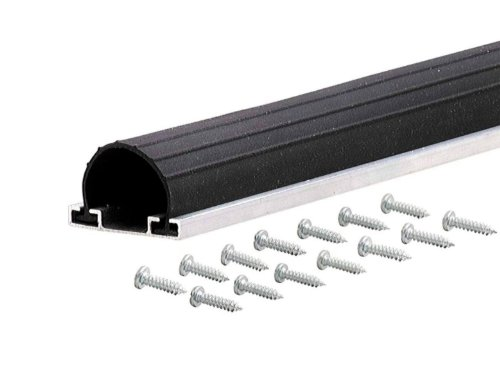 M-D Building Products 87643 9-Feet Universal Aluminum and Rubber Garage Door Bottom, ()