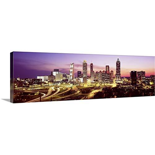 GREATBIGCANVAS Gallery-Wrapped Canvas Entitled Atlanta GA by 60