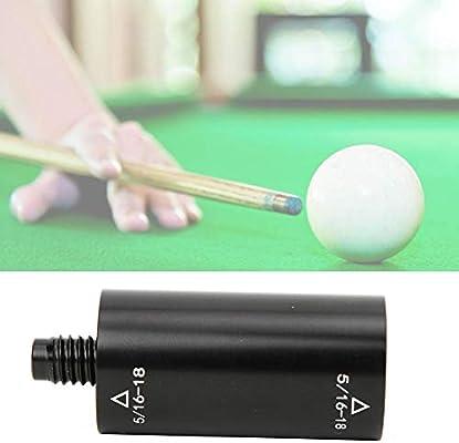Pool Cue Extension Aleación de Aluminio Pool Cue Extended Stick Billar Extender Partes Accesorio para Billiard Bar: Amazon.es: Deportes y aire libre
