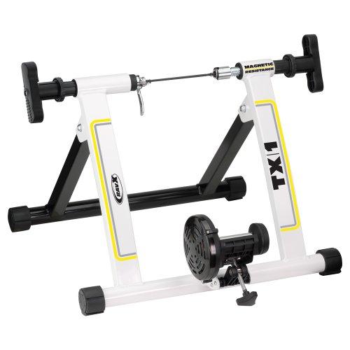 RavX TX1 Indoor Bike Trainer, Black/White by RavX