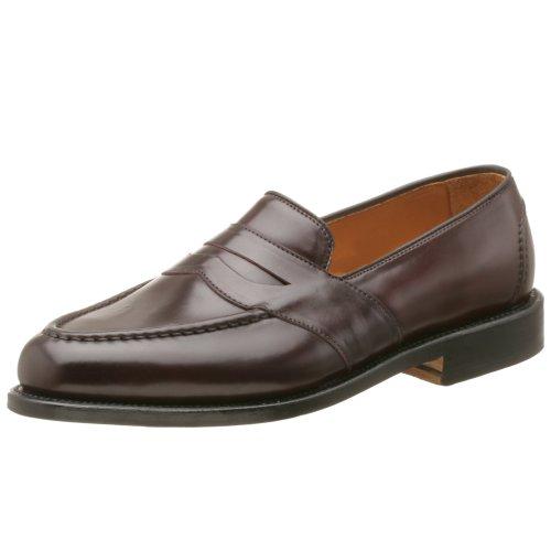 - Allen Edmonds Men's Randolph Genuine Shell Cordovan,Burgundy w/ Combo Heel,13 E