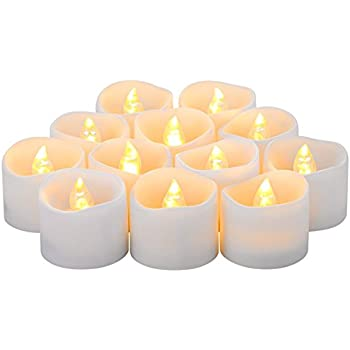 Amazon.com: eLander LED Tea Lights Flameless Candle with