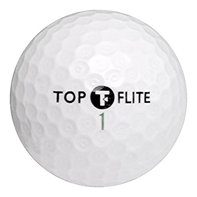 Top Flight Recycled Golf Balls Mix (Pack of 50)