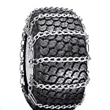 ATV, Snow Blower Thrower Snow Tire Chains 2 Link (23 x 10.5 x 12, 23 x 9.50 x 12)
