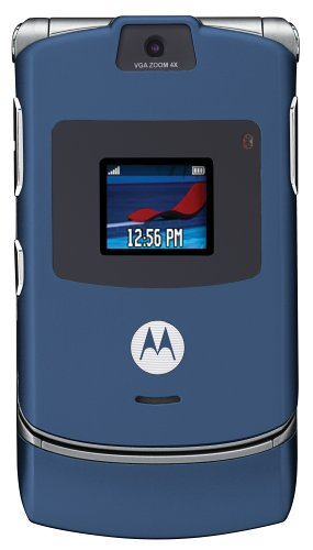 Motorola RAZR V3 Blue Phone (AT&T)
