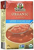 Dr. McDougall's Organic Lower Sodium Chunky Tomato Soup - 17.7 oz - 6 Pack