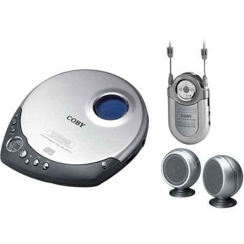 Review Coby CX-CD1234 Portable CD