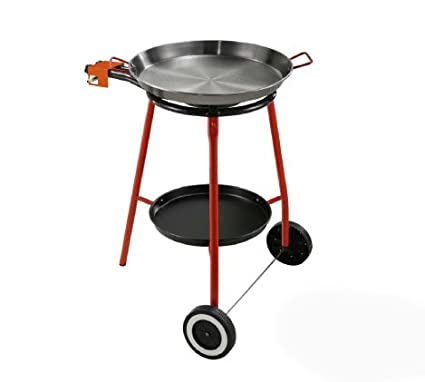 Outdoor Paella Burner & 15 inch Paella Pan Set