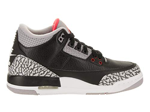 3 Retro 001 Jordan cement Bg 854261 Og gs Black Red Grey Air Fire Uq1wR5Ew