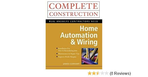 home automation \u0026 wiring james gerhart 9780070246744 amazon com Home Wiring Schematic