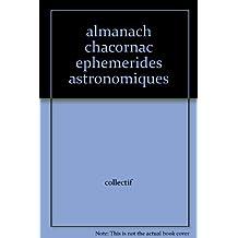 almanach chacornac ephemerides astronomiques