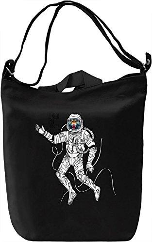 Space tiger Borsa Giornaliera Canvas Canvas Day Bag| 100% Premium Cotton Canvas| DTG Printing|