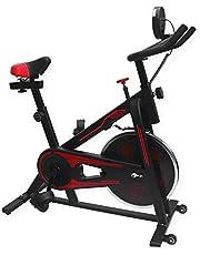 UrbanFit Pro Bicicleta Spinning Uso Rudo 13kg Estatica Banda Gym