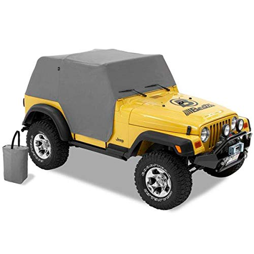 Bestop 81037-09 Charcoal All Weather Trail Cover for 1997-2006 Wrangler TJ (Except Unlimited)