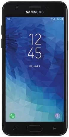 Amazon Com Samsung Express Prime 3 With 16gb Memory At T Prepaid Cell Phone Black