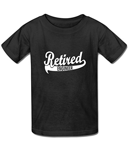 (Beatles Rock Youth Funny Retired Engineer, Retirement Gift t shirt black )