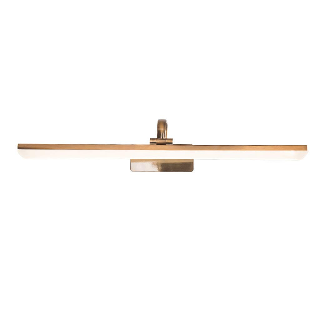 SCJ Badezimmerspiegelleuchten Spiegelfrontlicht Led-spiegelschranklicht Einfache Make-Up Lampe Wasserdicht Anti-Fog Badezimmerlampe (Farbe  C)
