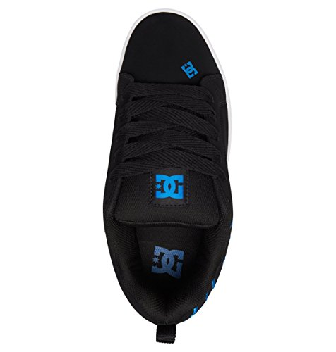 Baskets Blue 47 Noir Black Universe EU Graffik Basses Schwarz DC Black Wei Court Homme Rt1T8qOA