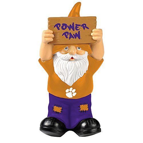 Clemson University Garden - Elite Fan Shop Clemson Tigers Garden Gnome - Orange