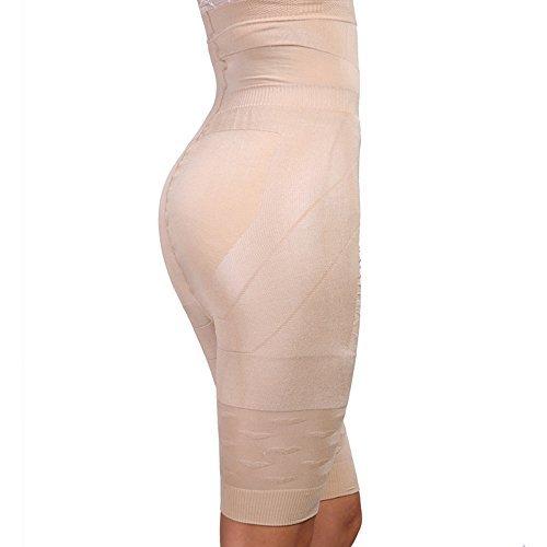 SHINE Breathable Latex Corset Training Waist Cincher For Women,Beige,XXX-Large