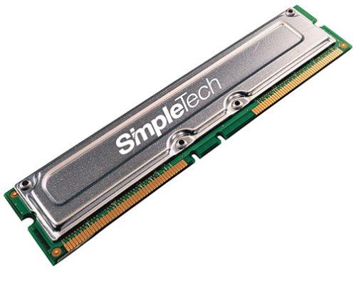 SimpleTech RB800X16-16/512 512MB PC800 Non-ECC RDRAM 184pin RIMM
