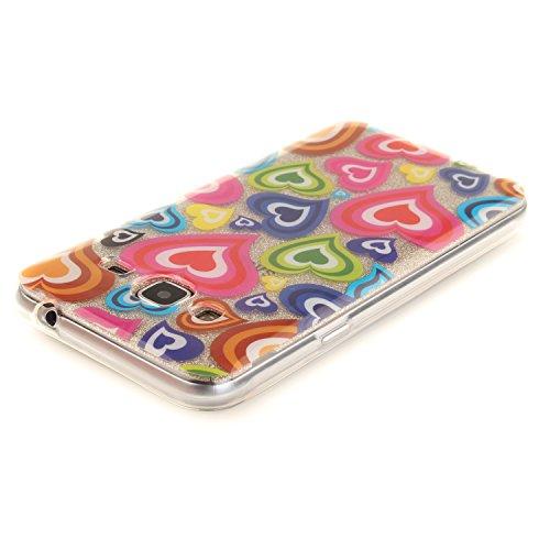 Caja Transparente de Samsung Galaxy J3/J310, MAGQI Flexible y Durable del gel de TPU a Prueba de Choques [Anti-Rasguñe] Tope de la Absorción y, [Pluma Negra Libre de la Aguja]-Flor de la magnolia Amor