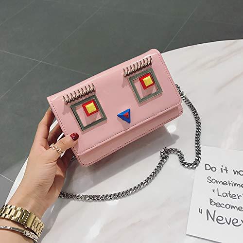 Mini Sac chaîne Sac Sac ZHANGJIA q Sac hypnotique rosa Regard Mini Mode Sac Sac la Sac qwanwBPA8