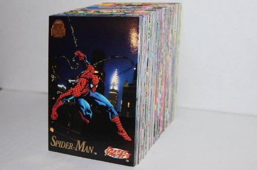 - 1994 Fleer Marvel Universe Complete Master Set - Includes Base Set (200 Cards), Rare Hologram Set (4 Cards), Suspended Animation Set (10 Cards), and Silver Power Blast Set (9 Cards)
