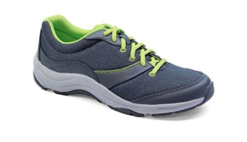UPC 616542178352, Vionic Kona Womens Orthotic Athletic Shoe Grey/Lime - 8.5 Medium