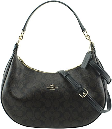 Coach Harley East West Hobo Handbag Shoulder Bag Crossbody