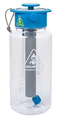 Lunatec Aquabot Sport Water Bottle - a pressurized Mister, Camp Shower and  Hydration in one  Portable Running Water for Your Pocket  BPA Free