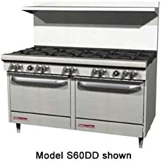 Southbend S Series 60 Inches Gas Restaurant Range 10 Open Burner 2