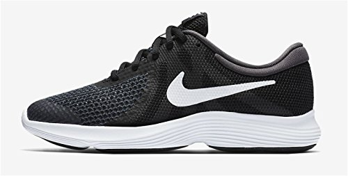 Nike Pige Huarache Run (ps) Fitness Sko Grå (mørkegrå / Hvid-sort-pr Pltnm) jQri2