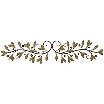 Amazon.com: Metal Olive Branch Over the Door Wall Decor 47 In ...