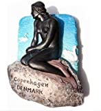 Little Mermaid Danemark Copenhague danois r?sine 3D TOY aimant de r?frig?rateur