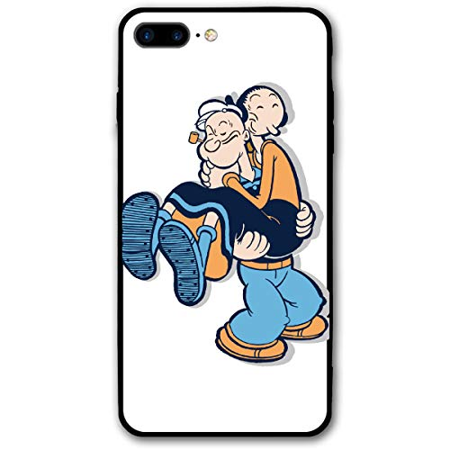 iPhone 7/8 Plus Rush Spinach Popeye Village Bluto Olive OYL Cases for Apple]()