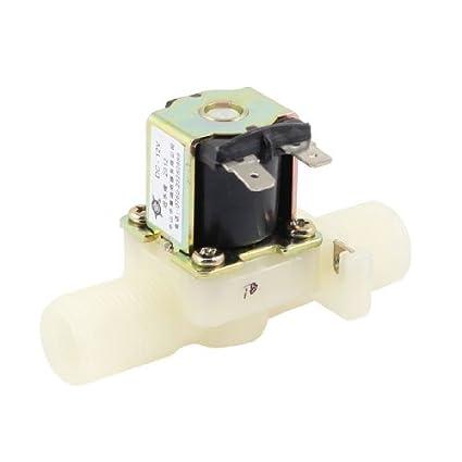 Amazon.com: eDealMax 12V DC Rosca de entrada de agua de la ...