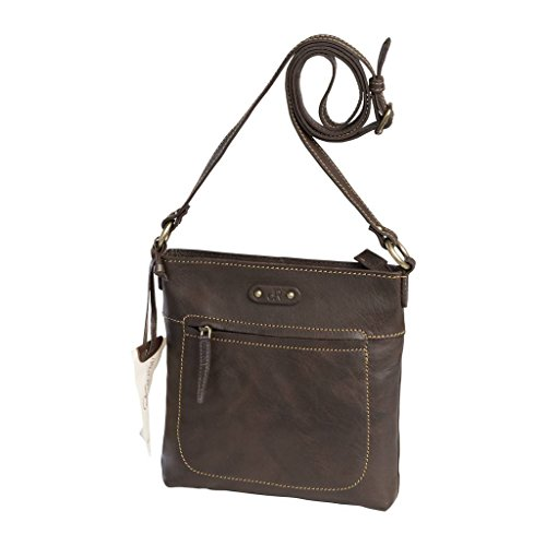 dR Amsterdam, Borsa a spalla donna marrone Brown