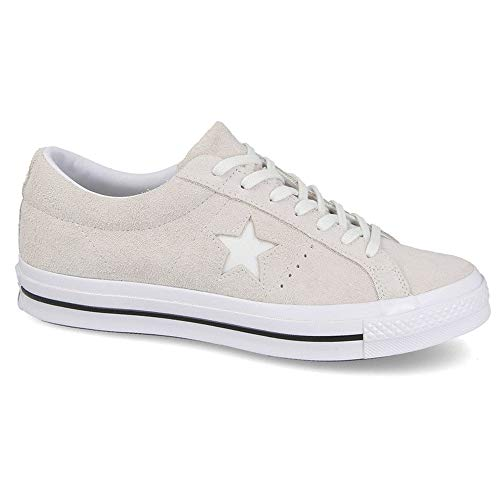 (Converse Men's One Star Ox Suede Trainers, White, 7)
