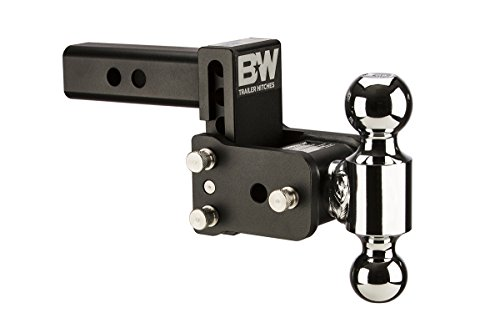 B&W Trailer Hitches TS10033B Tow & Stow 3in Drop 3.5in Rise 2x2 5/16 in Dual Ball Size Hitch
