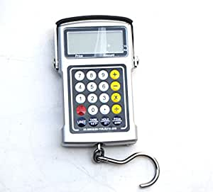 Sican 50Kg x 20g Fish Hook Hanging Digital Weighing Portable Scale With Calculator