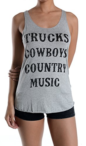 trucks-cowboys-country-music-graphic-tank-top-large-gray