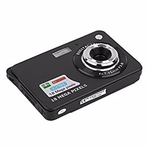 KINGEAR CDC3 Mini Digital Camera 2.7 Inch TFT LCD HD Digital Video Camera,Black