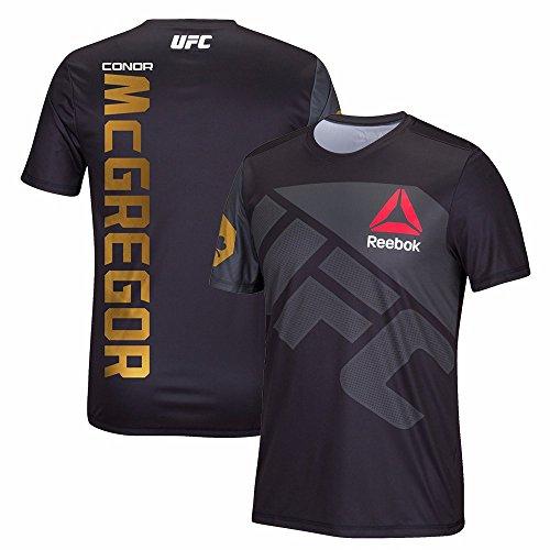 Reebok UFC Men's Fighter Conor Mcgregor Team Jersey, XX-Large, Black