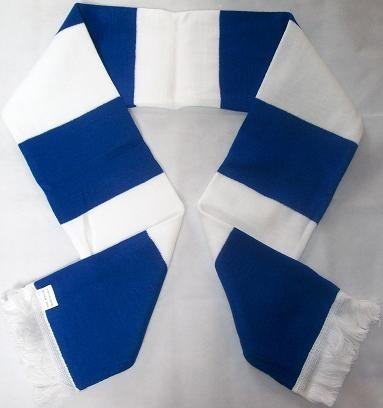 Bar Scarf And Stockport incluye Flags Retro Precio White 1000 env Royal Blue Ha0qIYw